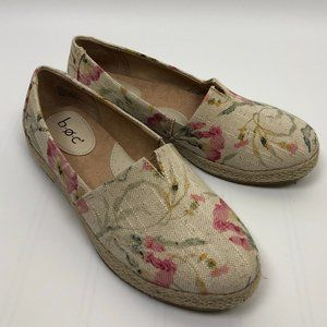 b.o.c. Slip On Espadrille Sneaker Flat Floral